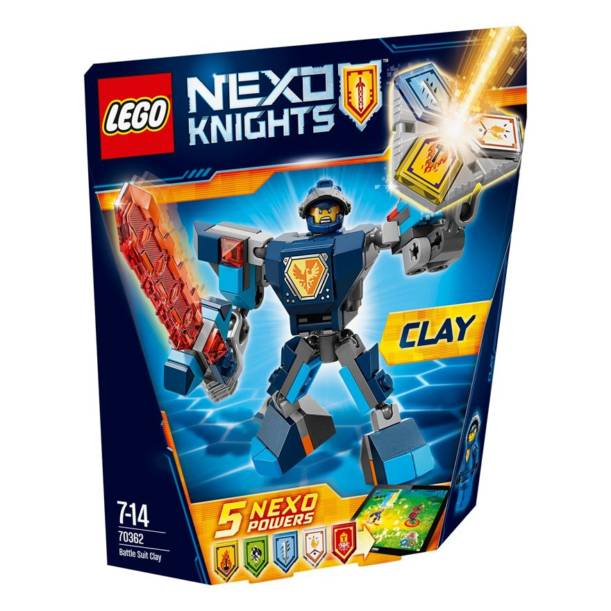 LEGO NEXO KNIGHTS Battle Suit Clay 70362 image-0