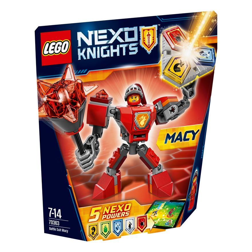 LEGO NEXO KNIGHTS Battle Suit Macy 70363 image-0