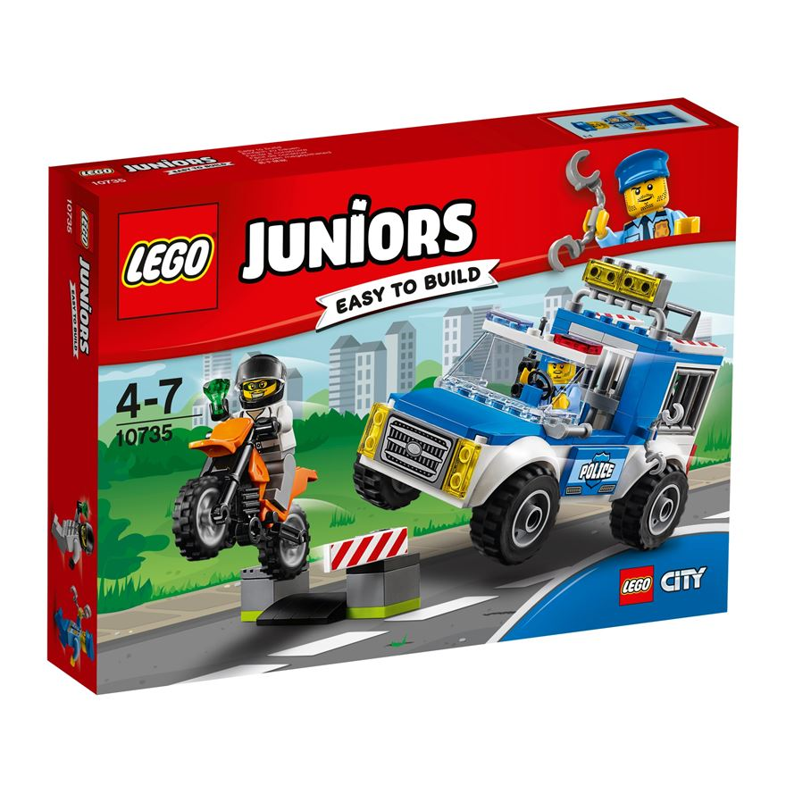 LEGO Juniors Police Truck Chase 10735 image-0