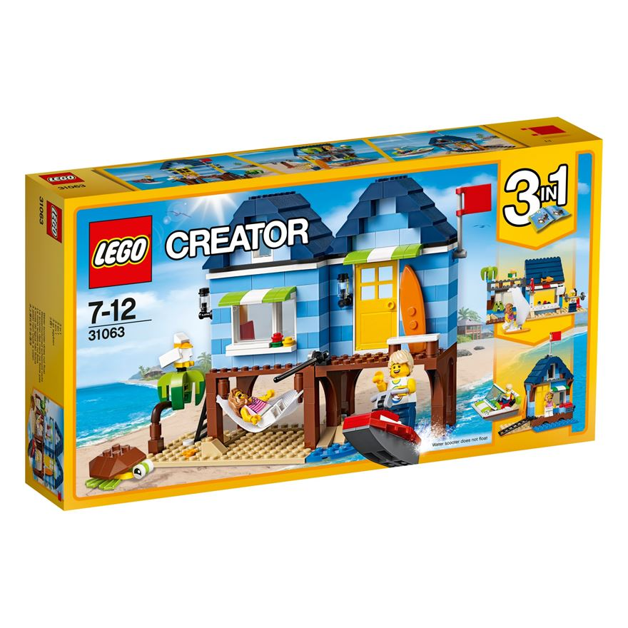 LEGO Creator Beachside Vacation 31063 image-0