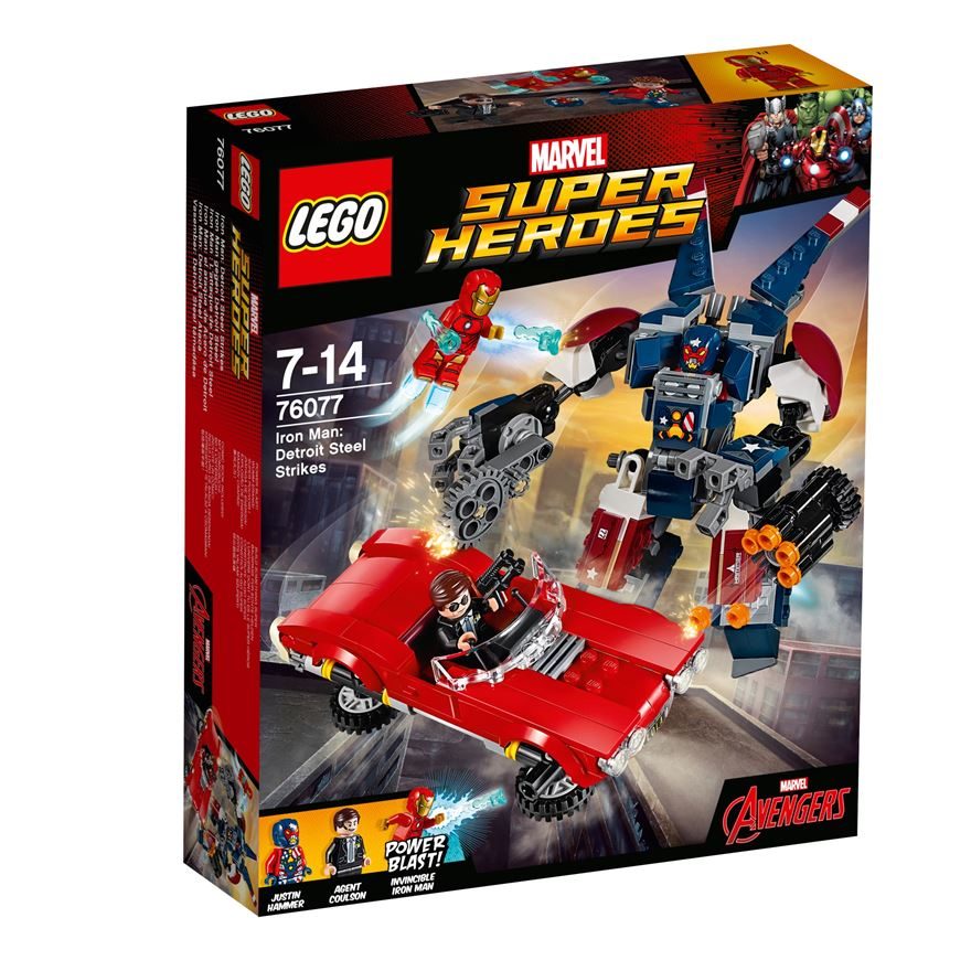LEGO Marvel Super Heroes Iron Man: Detroit Steel Strikes 76077 image-0