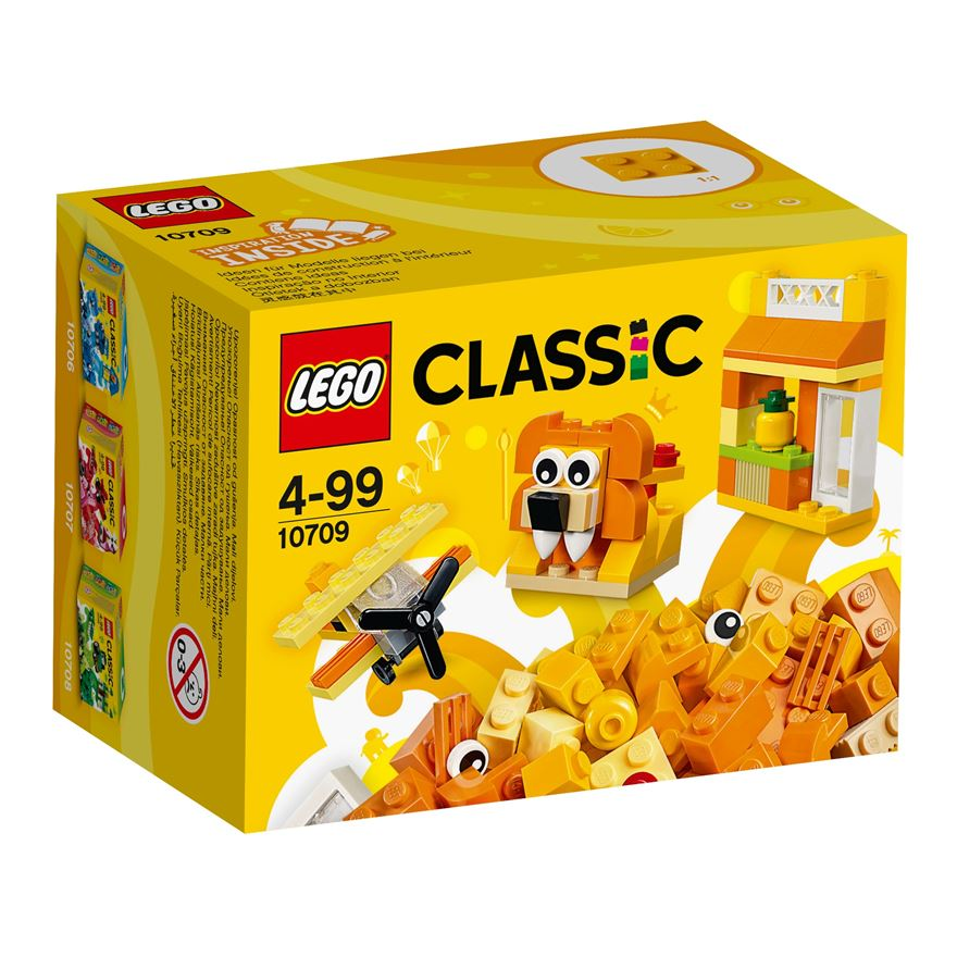 LEGO Classic Orange Creativity Box 10709 image-0