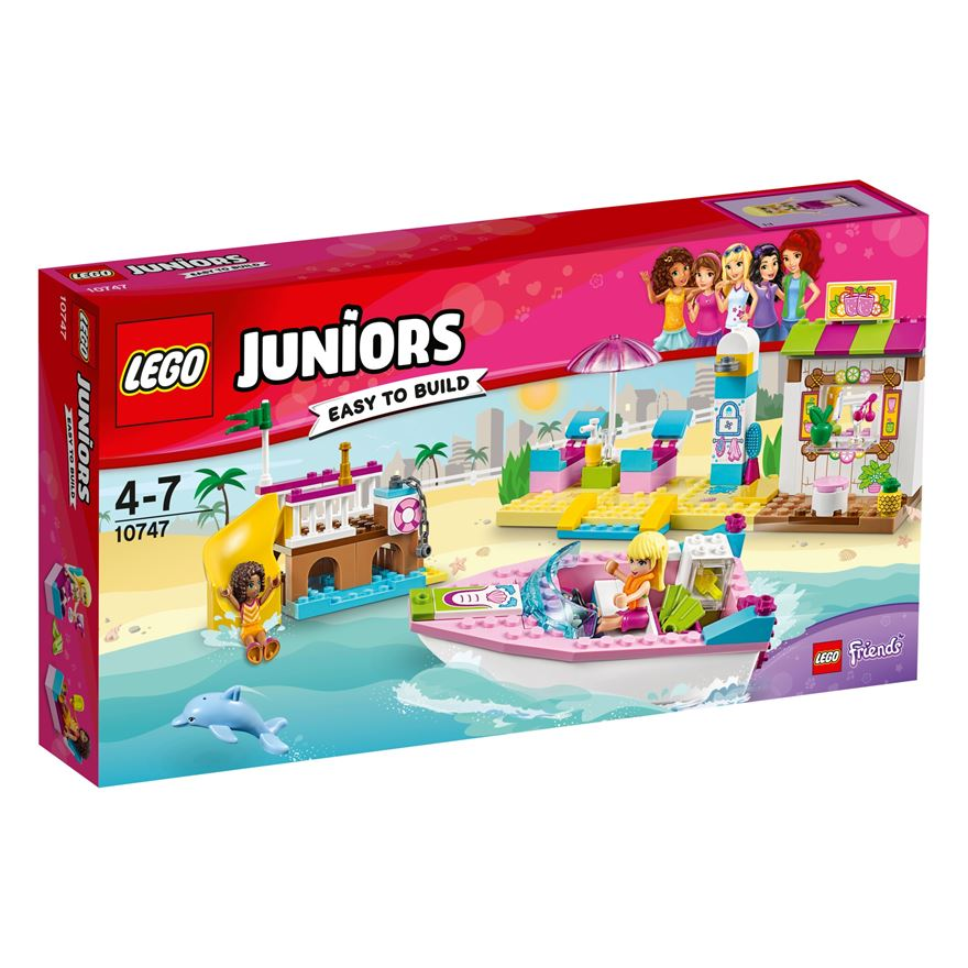 LEGO Juniors Andrea & Stephanie's Beach Holiday 10747 image-0
