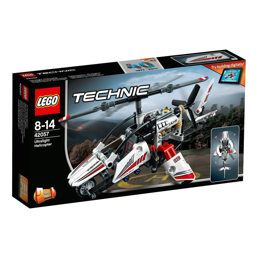 LEGO Technic Ultralight Helicopter 42057 image-0