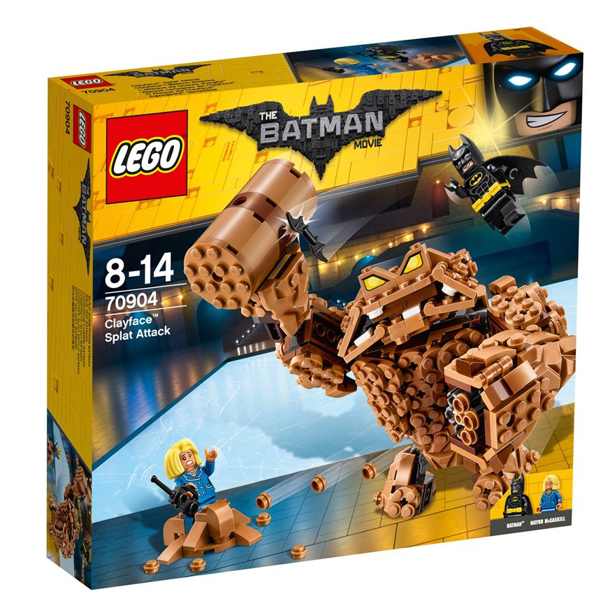 LEGO The Batman Movie Clayface Splat Attack 70904 image-0
