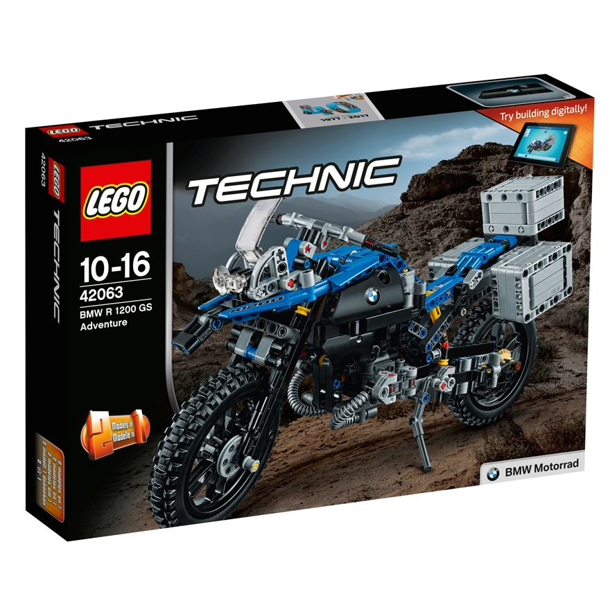 LEGO Technic BMW R 1200 GS Adventure 42063 image-0