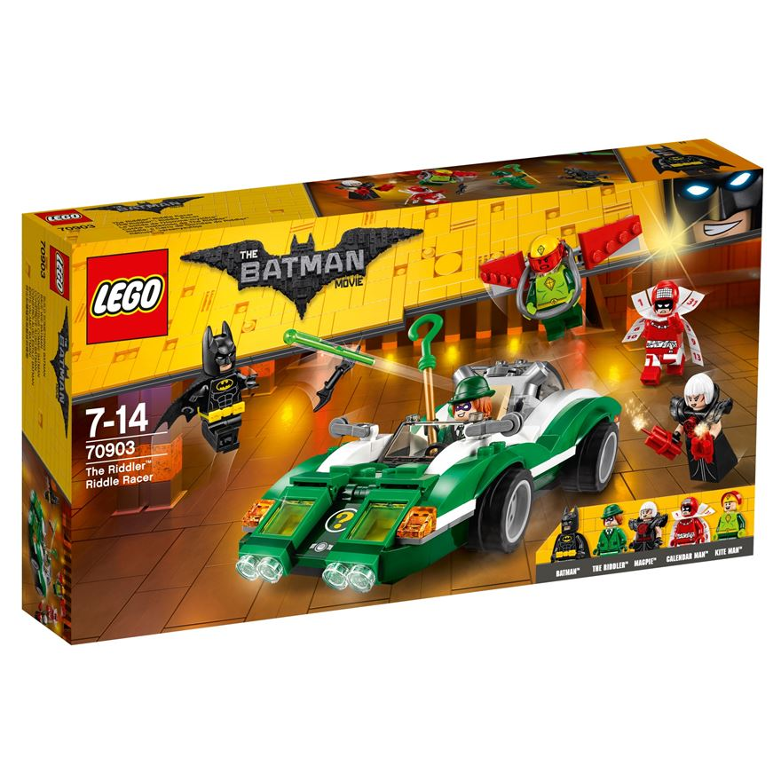 LEGO The Batman Movie The Riddler Racer 70903 image-0