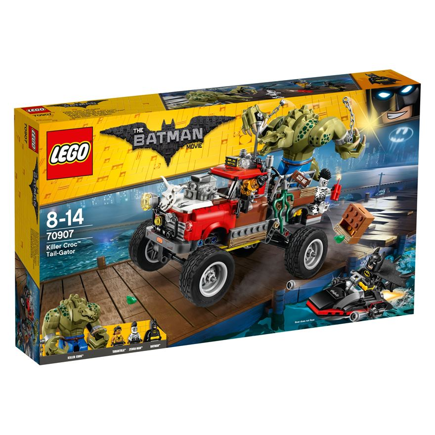 LEGO The Batman Movie Killer Croc Tail-Gator 70907 image-0