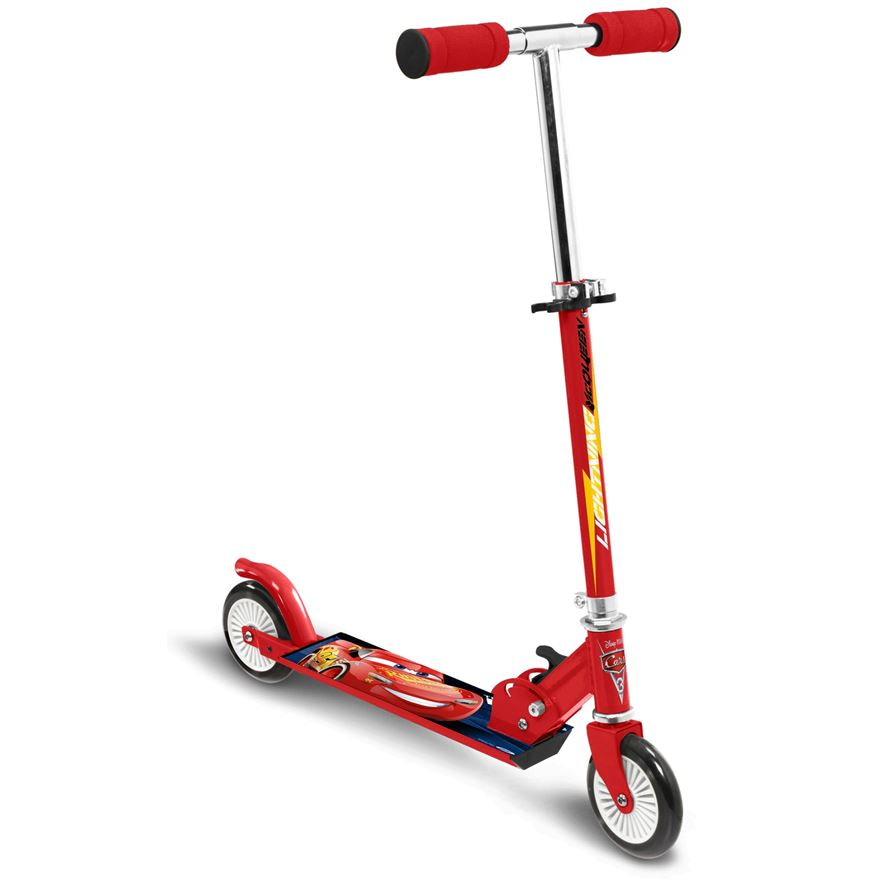 Cars 3 Folding Inline Scooter image-0