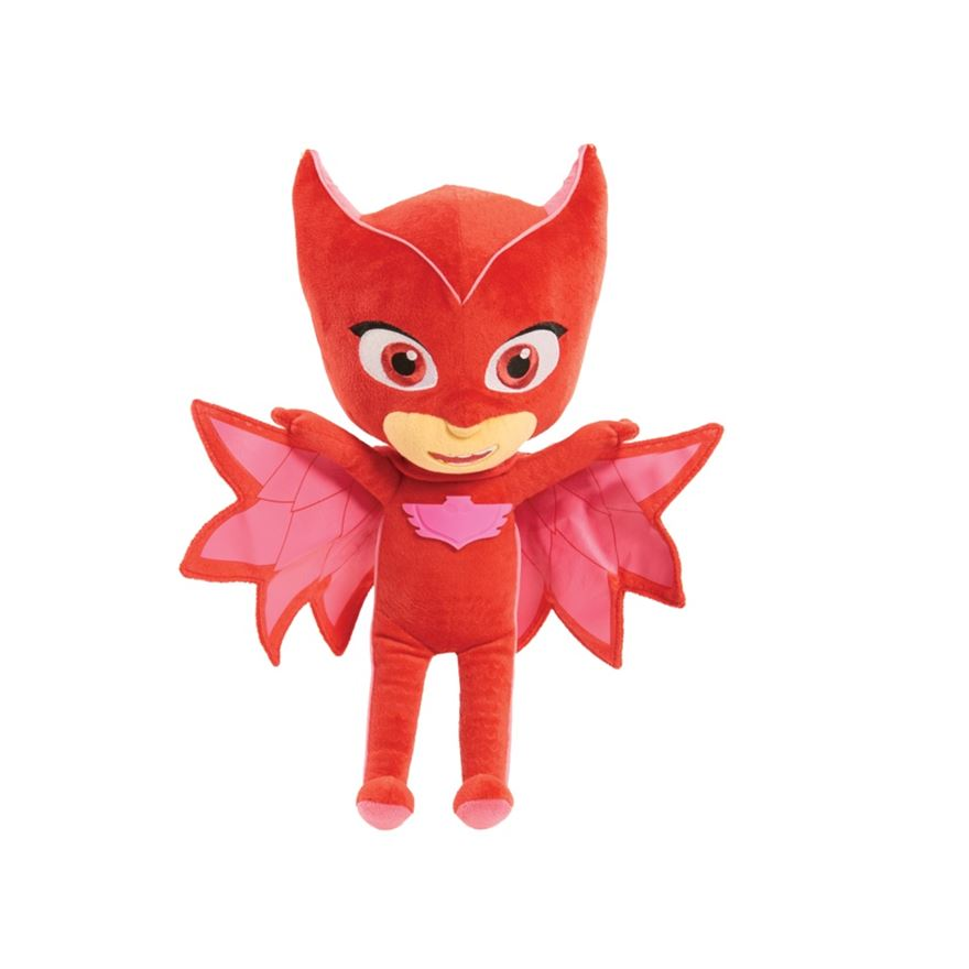 PJ Masks Sing and Talk Plush Owlette image-0
