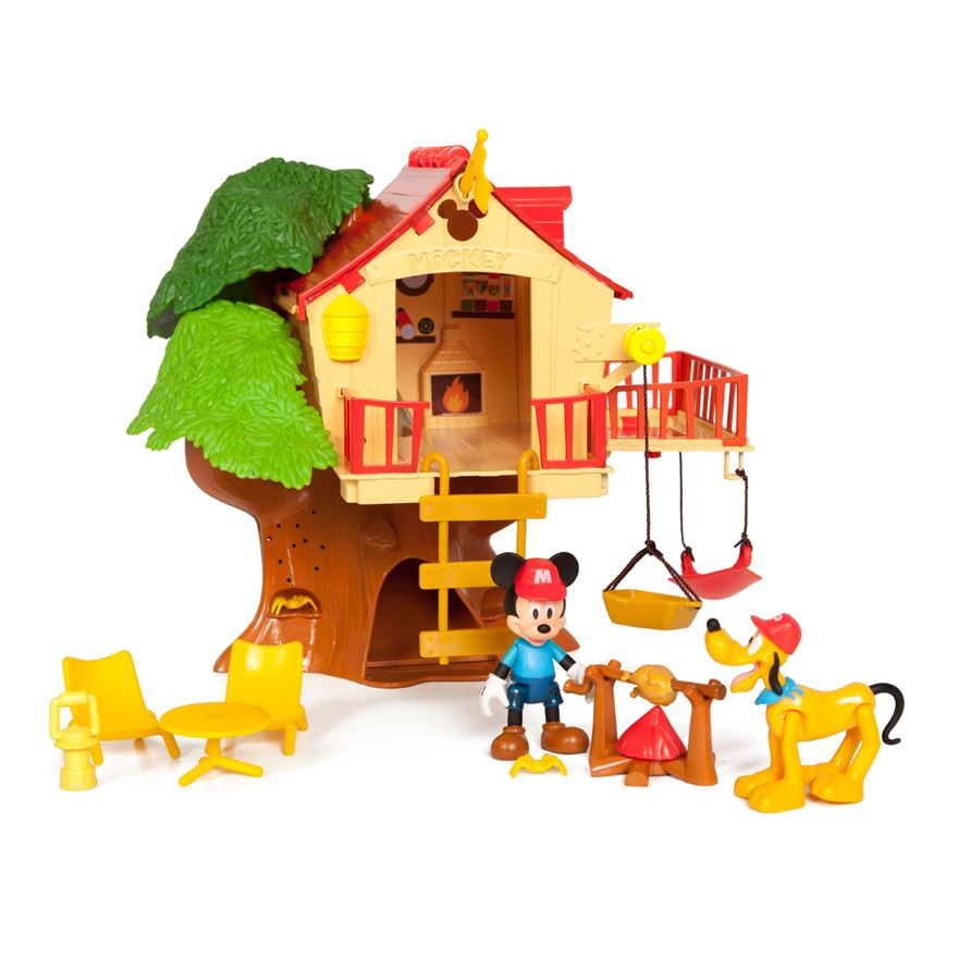 Disney Mickey Mouse Tree House Adventure Set image-0