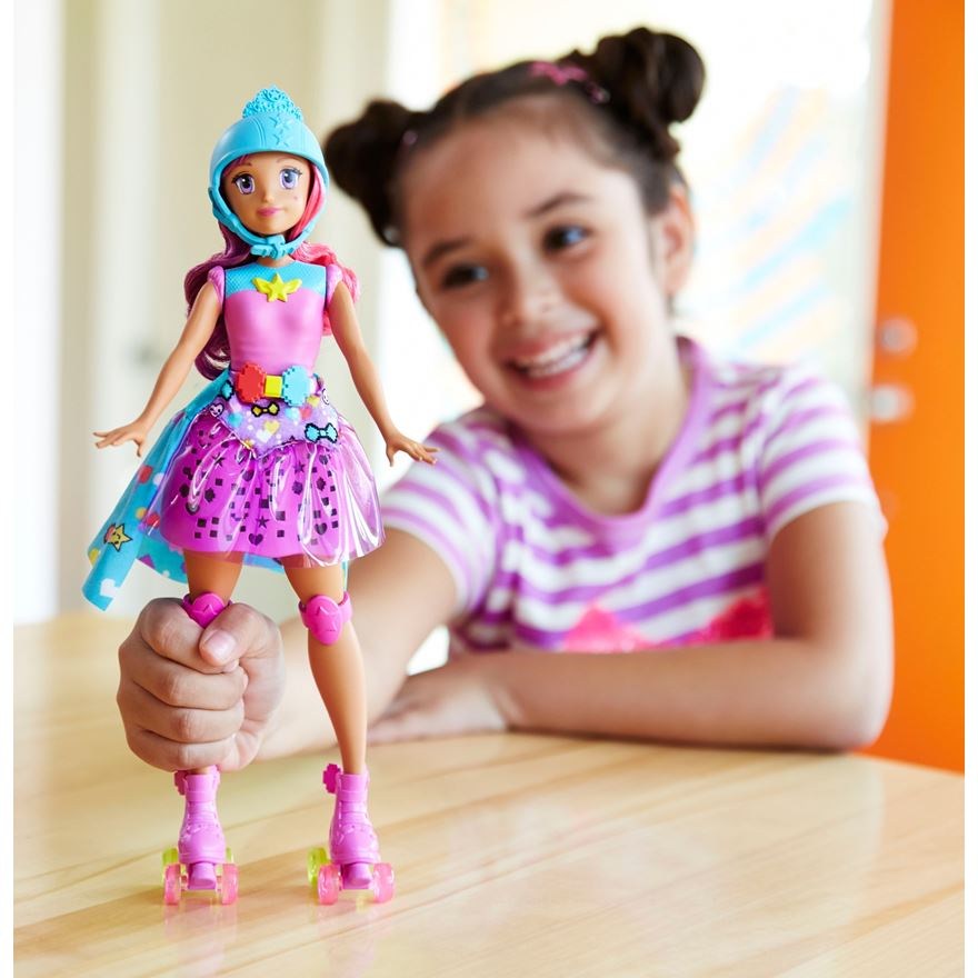 Barbie Video Game Hero Match Game Princess Doll image-0