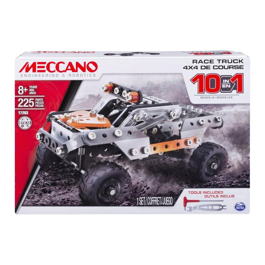Meccano 10 Model Set Race Truck image-0