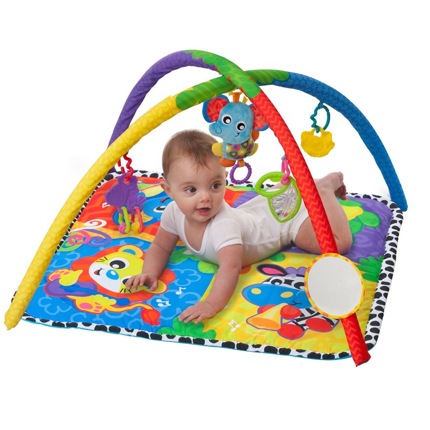 Playgro Music in the Jungle Activity Gym image-0
