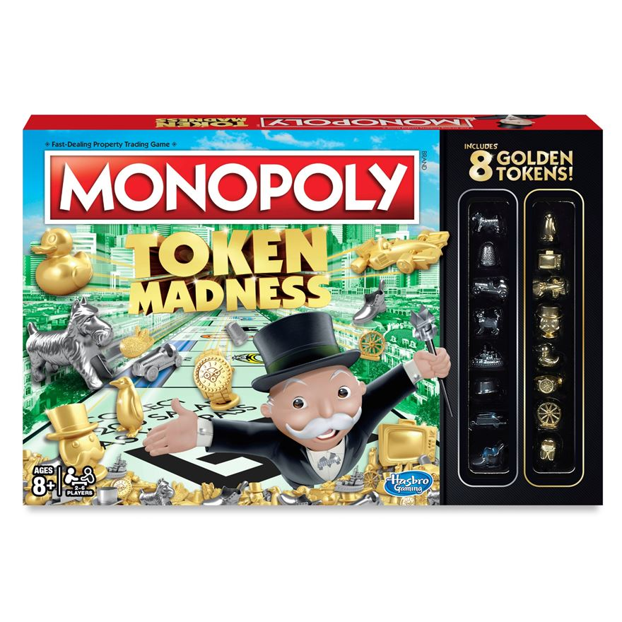 Monopoly Token Madness Game image-0
