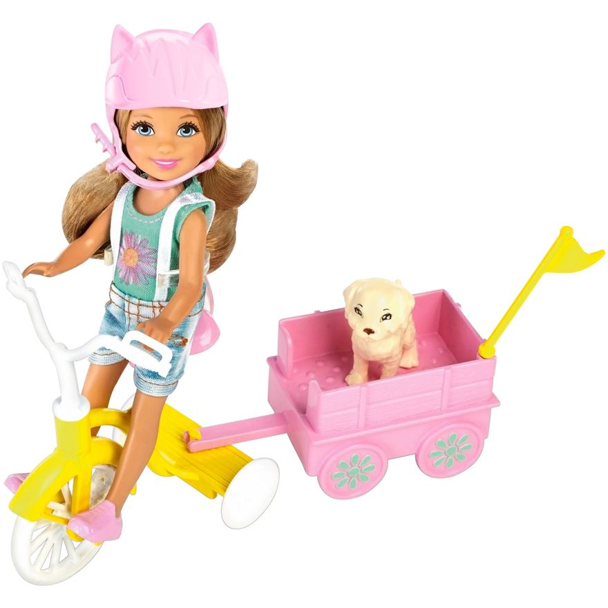Barbie Chelsea & Tricycle  image-0