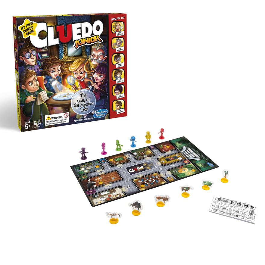 Cluedo Junior Game image-0