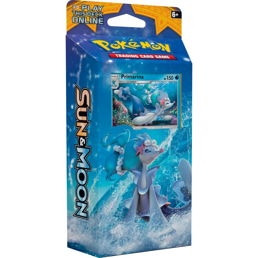 Sun & Moon Theme Deck Pokémon Trading Card Game image-0