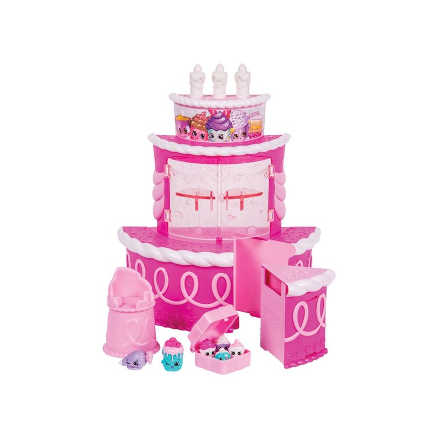 Shopkins Birthday Cake Surprise Playset image-0