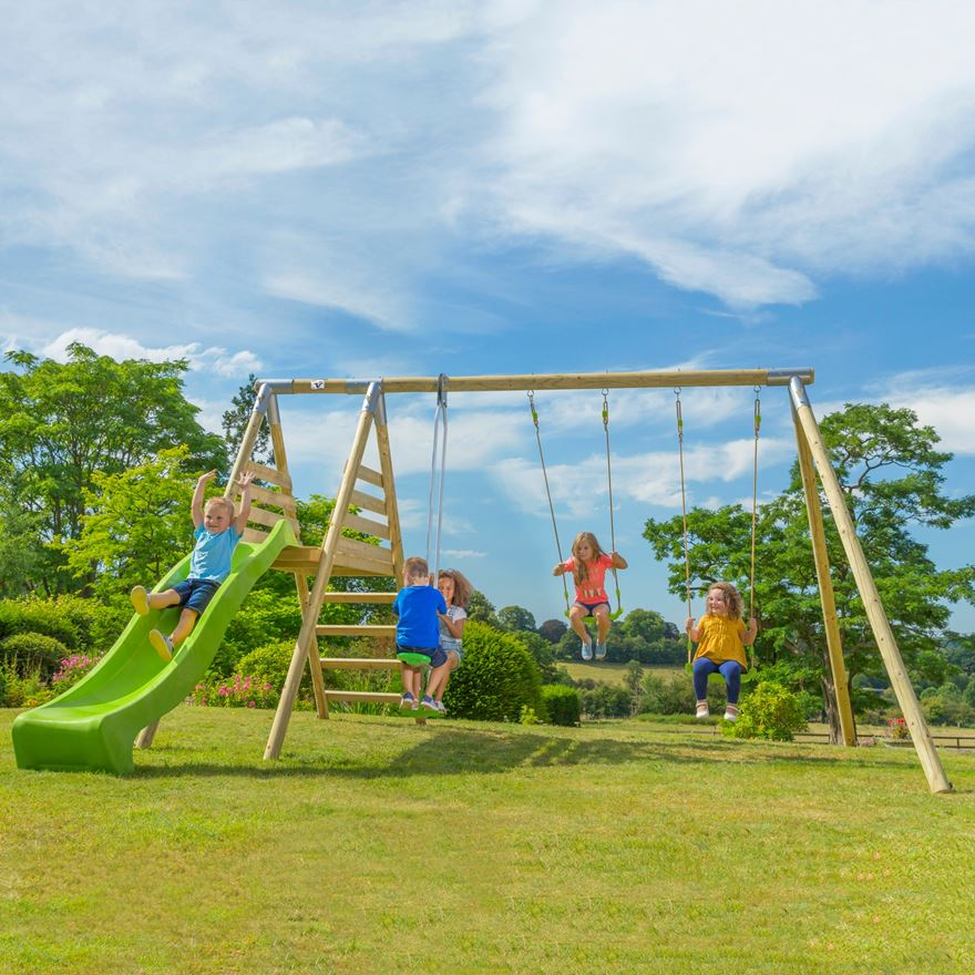 TP Round Wood Multiplay Centre image-0
