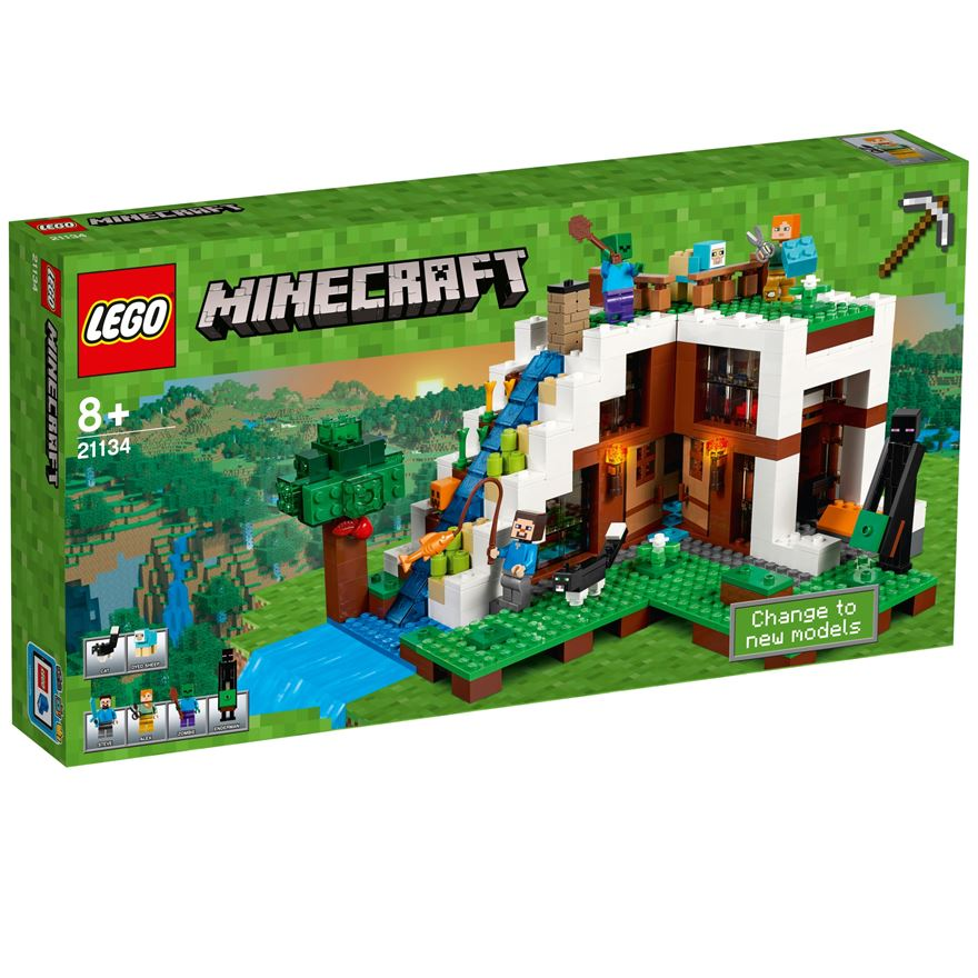 LEGO Minecraft The Waterfall Base 21134 image-0