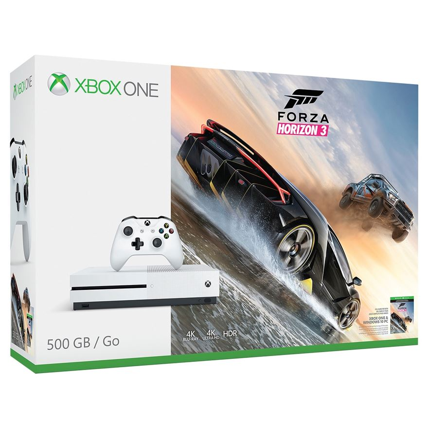 Xbox One S 500GB Forza Horizon 3 Bundle image-0