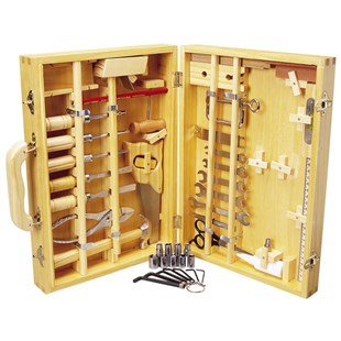 50 Piece Tool Set In Wooden Case