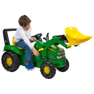 John Deere Xtrac with Rolly Loader