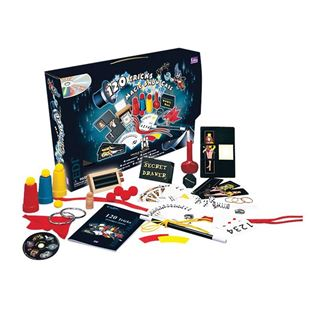120 Tricks Magic Show Case Set