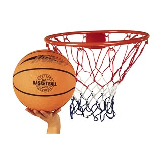 Basketball Ring Net and Ball Set