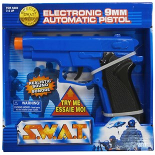 S.W.A.T. Electronic Automatic 9mm Toy Pistol