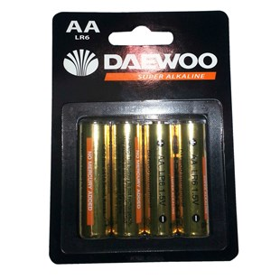 Daewoo AA Size Pack Batteries