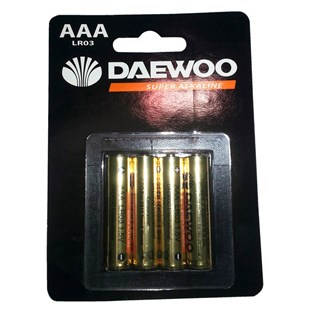 Daewoo AAA 4 Pack Batteries