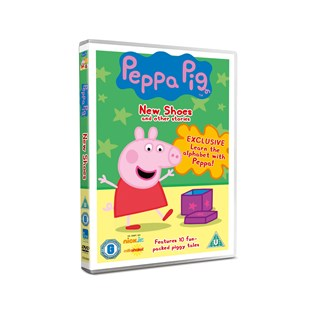 Peppa Pig New Shoes DVD
