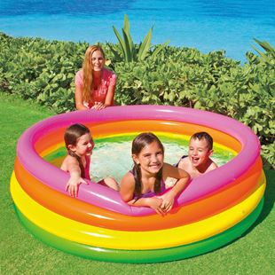 Intex Sunset Glow 4 Ring Pool