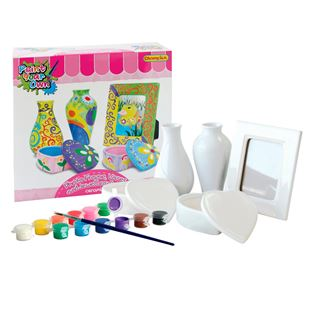 Paint Your Dream World Frame,Vases & Jewellery Box