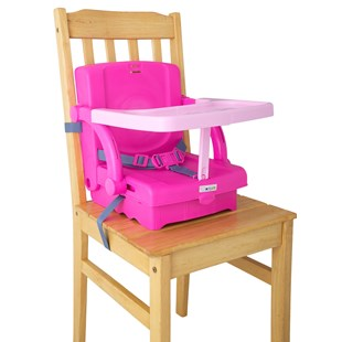 Kids Kit Hi Seat Pink Booster
