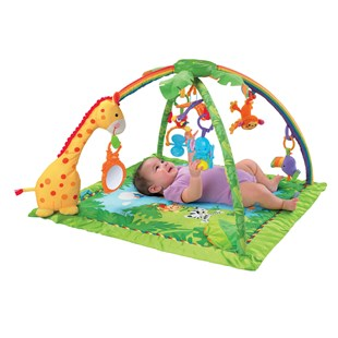 Fisher-Price Rainforest Melodies & Lights Gym Play Mat