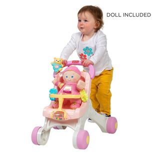 Fisher Price Stroll-Along Walker Gift Set