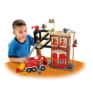 Fisher Price Imaginext Firestation & Engine