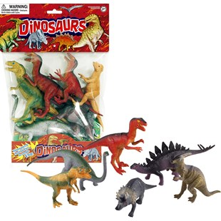 6 Piece Dinosaur Set