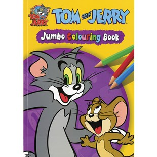 Tom And Jerry Jumbo Colouring Book