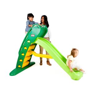 Little Tikes Easy Store Giant Slide Green