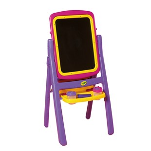 Crayola Quick Flip 2 Sided 4 in 1 Easel - Pink