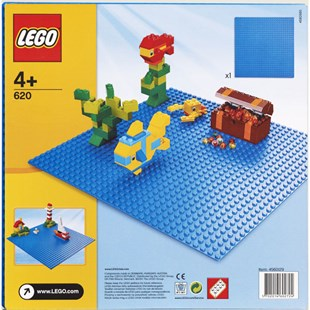 LEGO Building Plate Blue 620