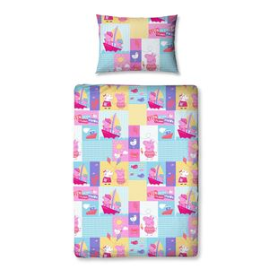 4 Piece Junior Bedding Bundle Peppa Pig