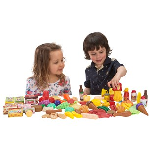 120 Piece Food Set