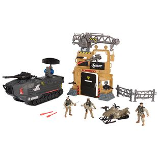 Soldier Force Steel Rhino Playset