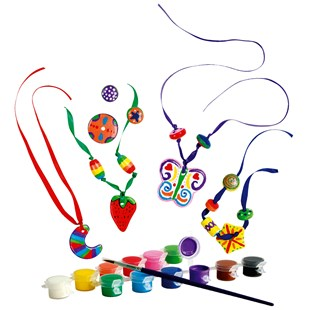 Paint Your Own Ceramic Beads