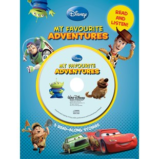 Disney My Favourite Adventures Book and CD